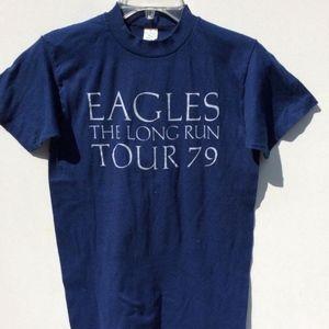 OG Vintage EAGLES  shirt 70s 79 Concert Deadstock